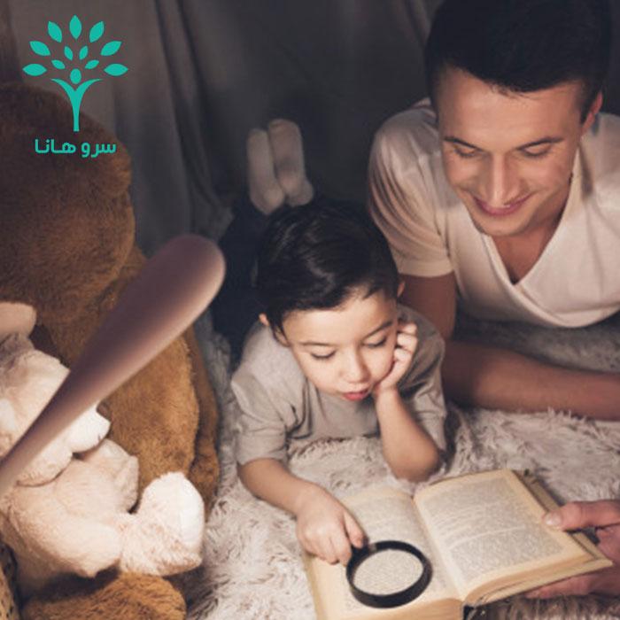 ایجاد انگیزه کتابخوانی